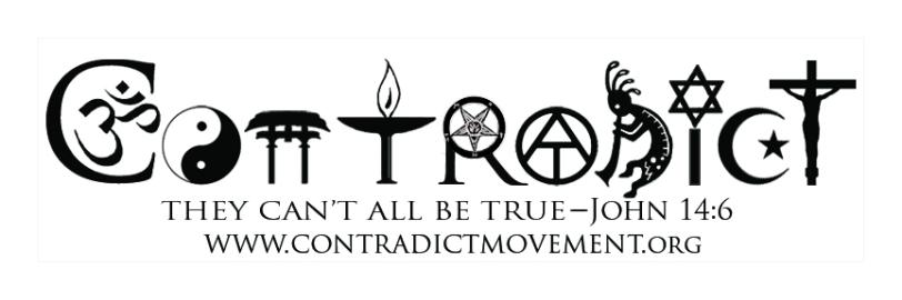 contradict